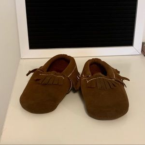 Baby moccasin | Brown